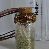 New Job or Promotion - Medium Fairy Spell Bottle
