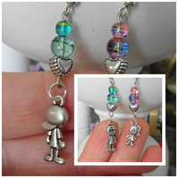 Little People & Bead Earrings