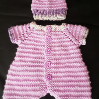 Preemie sized baby girls onesie