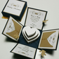 Hearts & Doves Exploding Wedding Invitation Boxes