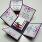 Floral Fancies Exploding Wedding Invitation Boxes