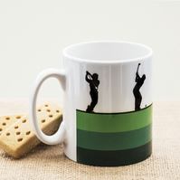 Golfers Coffee Mug for Golfing Fans, Enthusiasts and Players