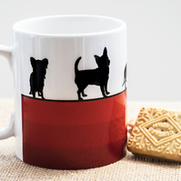 Red Dog Breed Coffee Mug Gift for Lover Owner Dachshund Westie Terrier Poodle