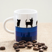 Dog Breeds Espresso Coffee Mug Gift Lover Owner Dachshund Westie Terrier Poodle