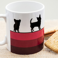 Pink Dog Breed Coffee Mug Gift for Lover Owner Dachshund Westie Terrier Poodle