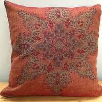 "1 X  20""  51cm  cushion cover. Star design, made from Pashmina type scarf"