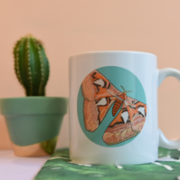 Atlas Moth Mug