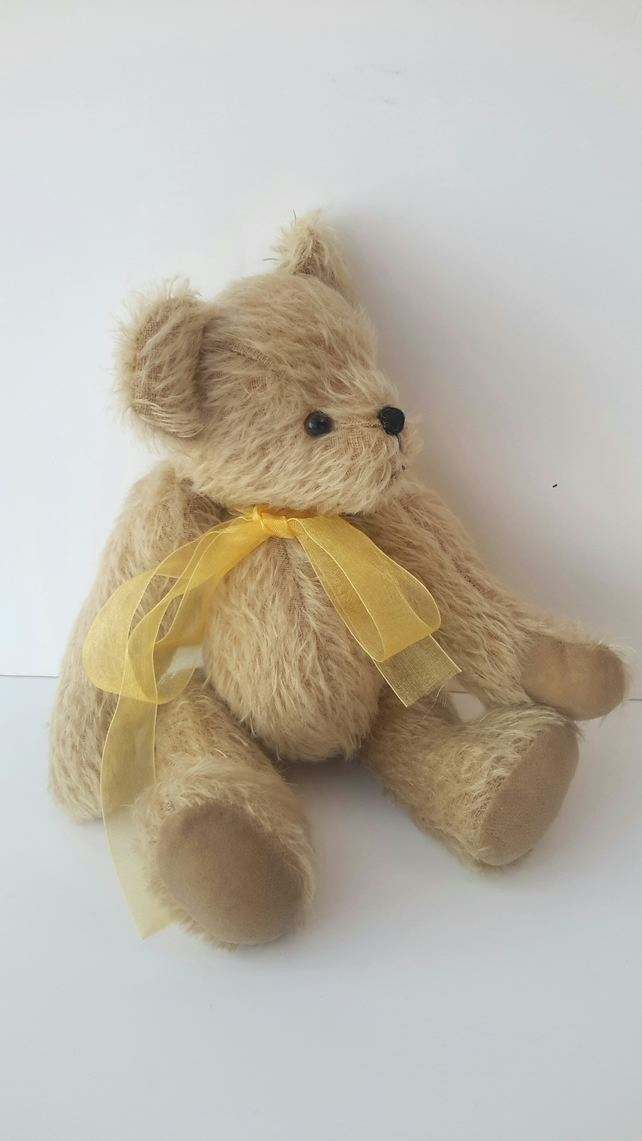 Sewing Pattern to make a Mohair Bear. Teddy Bear craft Pattern by Bearlescent