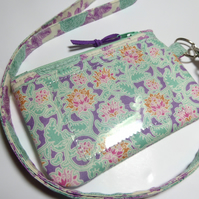 Small Coin Purse with Lanyard