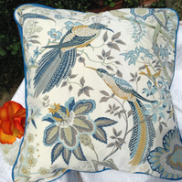 Sanderson Decorative retro print cushion covers