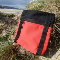 Red and Black Hip Bag