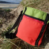 Red and Green Hip Bag
