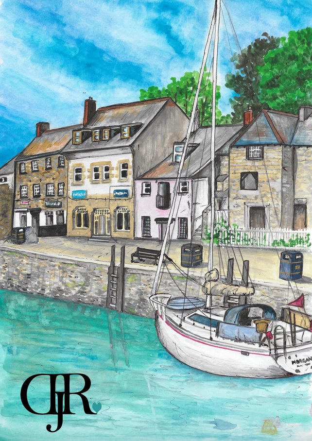 Padstow Watercolour Prints