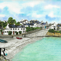 Moelfre Watercolour Prints