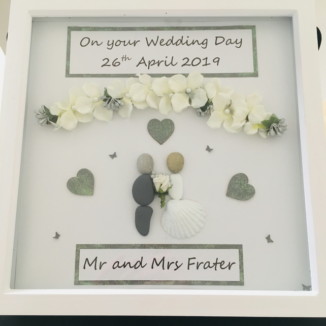Personalised wedding picture