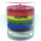 Rainbow Candle, Unicorn Candle, LGBT Candle, Pride Gift