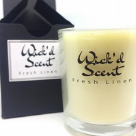 Fresh Linen Candle (Large)
