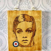 Pyrography Wall Art, Mod culture 1960s