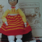 Handmade Knitted Eliza The Peg Doll (New, Made To order)
