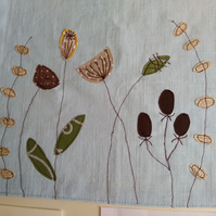 Free Machine Embroidery Applique Workshop Wednesday 7 November 2018