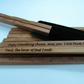 PERSONALISED ENGRAVED Authentic Natural Bamboo Chopsticks