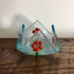 Poppy tea light holder
