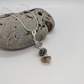Sterling Silver and Quartz Necklace