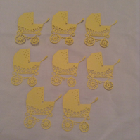 Baby embellishments for card making