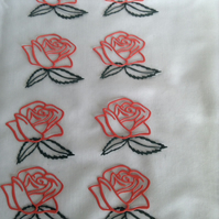 Rose embellishments