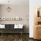 Oak sideboard- RUSTICA with slunts