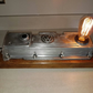 Upcycled VW Rocker Cover Table Lamp
