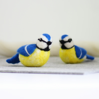 Blue Tits Needle Felting Kit