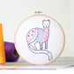 Stoat Contemporary Embroidery Kit