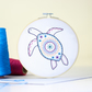 Turtle Contemporary Embroidery Kit