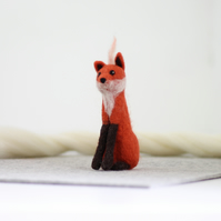 Fox Needle Felting Kit