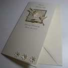 Sparkly Dragonflies Personalised Wedding Card - Tall Card - Marriage