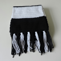 "Made to Order 64"" Premium Acrylic and Wool Scarf"