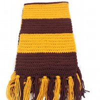 "Made to Order 54"" premium Acrylic Fringed scarf"