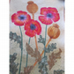 Poppy Textile Art Wall Hanging