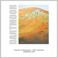 Calendar, Aspects of Dartmoor 2019.