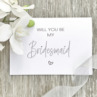 Will You Be My Bridesmaid - 'Will You Be…' Card Range