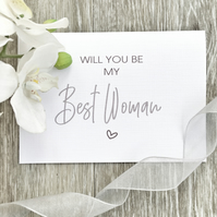 Will You Be My Best Woman - 'Will You Be…' Card Range