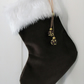 Chocolate Velvet Christmas Stocking