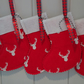 Mini Reindeer Christmas Stocking