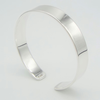 Sterling Silver Cuff Bracelet - Personalised Gifts