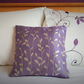 Small purple cushion, ideal for an office or bedroom