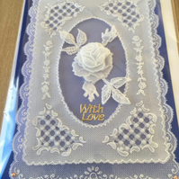 Beautifully handcrafted parchment card for any occasion