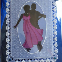 Let's Tango, a perfect card for Dance Lovers