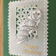 Barny, a perfect card for a bird enthusiast