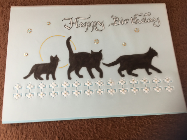 Birthday Card for a cat lover